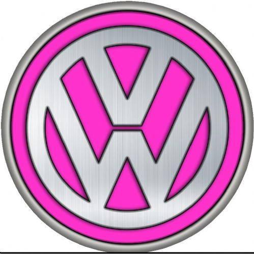 VW PINK 4x4 Spare Wheel Cover DECAL STICKER